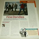 Franz Ferdinand 1 Page Article/Clipping