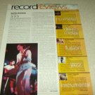 Santana 1 Page Article/Clipping #2