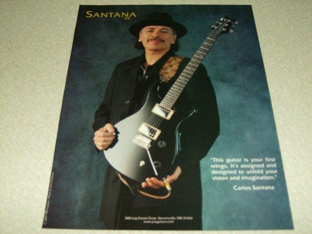 Santana PRS Guitar Ad