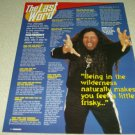 Testament 1 Page Article/Clipping - Chuck Billy