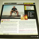 Fat Boy Slim 1 Page Article/Clipping