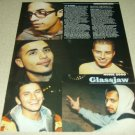 Glassjaw 1 Page Article/Clipping