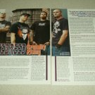 Hatebreed 3 Page Article/Clipping