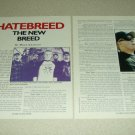 Hatebreed 2 Page Article/Clipping - Jamey Jasta