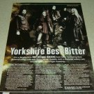 My Dying Bride 1 Page Article/Clipping