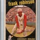 1959 TOPPS Baseball Card Frank ROBINSON #435 EX+ Cincinnati Reds Orioles MLB HOF