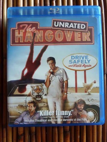 The Hangover Unrated Blu-ray Bradley Cooper Galifianakis Todd Phillips Like New