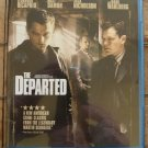 The Departed (Blu-ray Disc, 2007) Scorsese DiCaprio Damon Nicholson Wahlberg