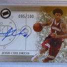 JOSH CHILDRESS 2004 Press Pass #95/100 Auto Graph RC Rookie Card MINT Stanford
