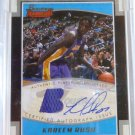 KAREEM RUSH 2002-03 Bowman Signature Edition Jersey Auto #59/99 RC Rookie Card