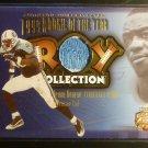 2002 Fleer Focus Jevon Kearse Uniform Patch Jersey Card ROY 42/99 Titans 2 Color