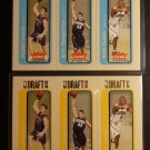 (4) 2004-2005 Fleer Tradition Kris Humphries Rookie Card LOT RC Draft Day #/375