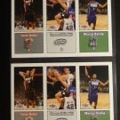 (10) 2002-03 Caron Butler Rookie Card RC Lot Fleer Tradition Topps Ginobili Trio