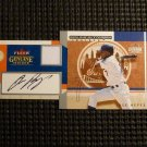 2004 Fleer Genuine Insider JOSE REYES Auto Graph Game Used Jersey Card #/100 GU