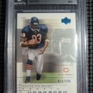 2001 UD Graded Rookie Card Series DAVID TERRELL BGS 9 MINT RC #/500 Bears NFL MT