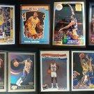 MAGIC JOHNSON Topps Reprint Refractor 9 Card LOT Fleer Skybox Upper Deck Lakers