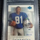 2001 UD Graded Rookie Card Series KOREN ROBINSON BGS 9 MINT RC #/500 Seahawks MT
