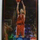 2003-2004 Topps Chrome Bostjan Nachbar Black Refractor 317/500 Houston Rockets