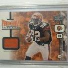 2001 Leaf Rookies & Stars Rudi Johnson Rookie RC Jersey Card Gold SP #47/50 NFL
