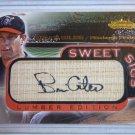 BRIAN GILES 2001 Fleer Showcase Sweet Sigs Auto Graph on Bat Baseball Card MINT