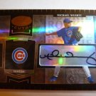 MICHAEL WUERTZ 2004 Leaf Certified Cuts Auto Graph Rookie Card RC #38/499 Cubs
