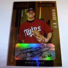 J.D. DURBIN 2004 Playoff Prestige XTRA Bases Auto Graph Rookie Card RC #77/100