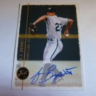 A.J. BURNETT 1999 Just 99 Minors Auto Graph Rookie Card Portland Sea Dogs JM-AJ