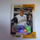 JACK WILSON 2002 Donruss Team Heroes Auto Graph Card #408 Pirates MINT SP
