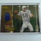 2003 Fleer Ultra Touchdown Kings PEYTON MANNING Game Used Jersey Patch Card MINT