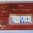 2004-05 Fleer Authentic BEN GORDON RUBY Auto Graph Rookie RC #45/75 Bulls UCONN