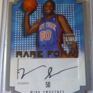 2003-04 Skybox LE MIKE SWEETNEY Rare Form Silver Auto Graph 45/50 #RFA-MS Knicks