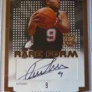 2003-04 Skybox L.E. TONY PARKER Rare Form Auto Graph Card #133/150 DIE-CUT SPURS
