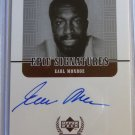 1999 Upper Deck Century Legends #EM EARL MONROE Epic Signatures Auto Graph Card