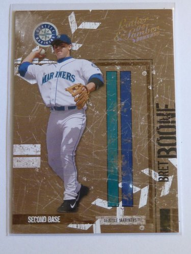 2004 Donruss Leather & Lumber BRET BOONE Parallel #3/25 Mariners Reds #128 MINT