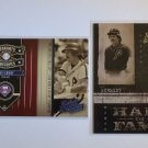2004 Donruss Leather & Lumber MIKE SCHMIDT HOF #901/2499 #299/1995 LOT HF-5 PP-2