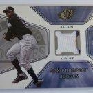 2001 Upper Deck SPx JUAN URIBE Rookie Prospect Jersey RC Card Pinstripe #133 MT