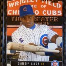 2003 Donruss Studio Proof SAMMY SOSA Card #113 Cubs #019/100 RARE Gem Mint