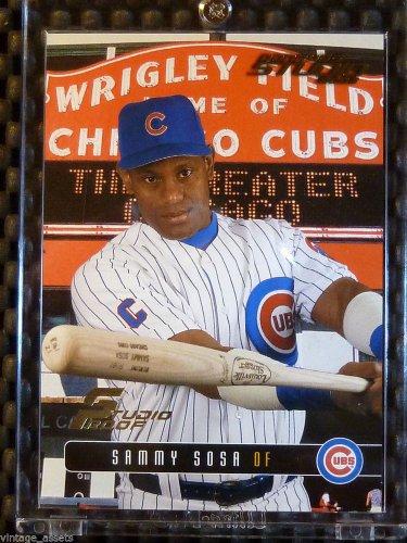 2003 Donruss Studio Proof SAMMY SOSA Card #113 Cubs #019/100 RARE Gem Mint
