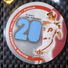2003 Fleer Hardball MIKE SCHMIDT Round Numbers Game Worn Jersey Patch Phillies