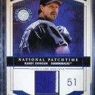 2003 Fleer Patchworks RANDY JOHNSON National Patch time Jersey NPT-RJ2 #/300