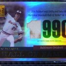 2004 Topps Tribute JIM PALMER Hall of Fame Game Worn Jersey Patch Card TR-JP