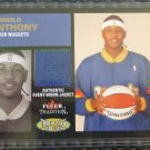 2003-04 Fleer Tradition CARMELO ANTHONY Throwback Threads Jersey Rookie RC TT-CA