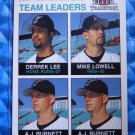 2003 Fleer Tradition Marlins Team Leaders LOWELL LEE BURNETT #12 #045/100