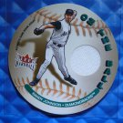 2003 Fleer Hardball RANDY JOHNSON On The Ball Game Worn Jersey Patch Card
