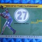 2003 Fleer EX VLADIMIR GUERRERO Behind the Numbers Jersey #BTNGU-VG #/199