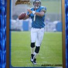 2003 Bowman BYRON LEFTWICH Gold Rookie Card RC #175 Uncirculated Marshall Herd