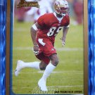 2003 Bowman BRANDON LLOYD Gold Rookie Card RC #207 Uncirculated 49ers Illinois