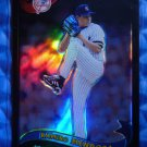 2002 Topps Chrome RAMIRO MENDOZA Black Refractor Yankees Card #52 #10/50 RARE SP