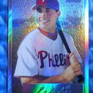 2002 Bowman Heritage Chrome ERIC VALENT #BHC91 #11/350 Phillies