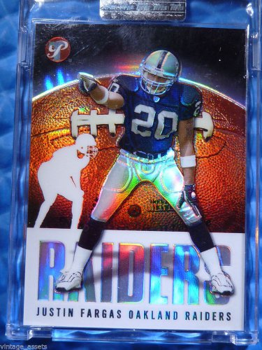 2003 Topps Pristine JUSTIN FARGAS Refractor RC Rookie Card #93 #/1449 UNC